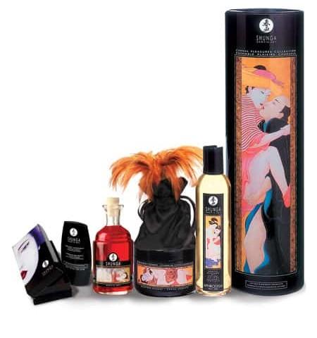 coleccion cosmetica erotica placer de Shunga