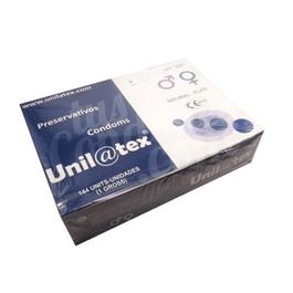 preservativos naturales Unilatex caja 144 unidades