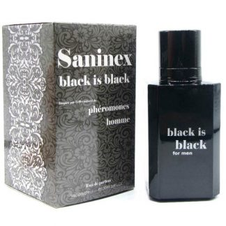 perfume feromonas masculino Saninex Black is Black 100 ml