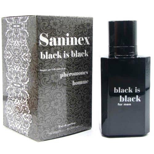 perfume feromonas masculino Saninex Black is Black 100 ml