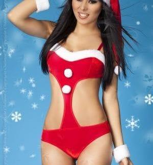 Body rojo de Navidad