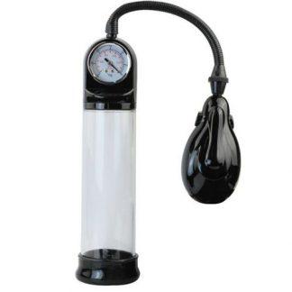 bomba de ereccion automatica con medidor de presion