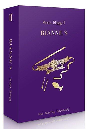 kit de juego anal triologia de Ana 2 de RIANNES presentación