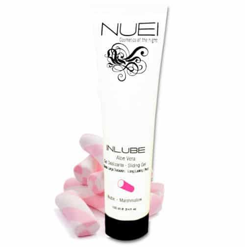 lubricante sabor nube con aloe vera 100ml de NUEI