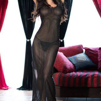 conjunto 2 piezas vestido de CHILIROSE negro talla XL