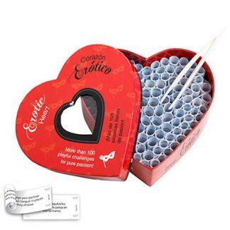 Juego corazón erótico para parejas