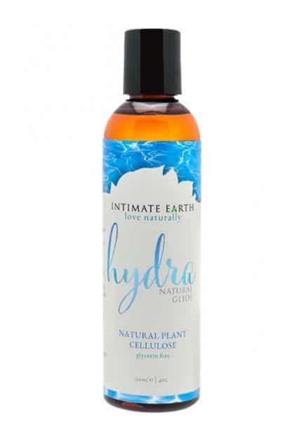lubricante natural sin glicerina HYDRA DE INTIMATE EARTH 120 ML