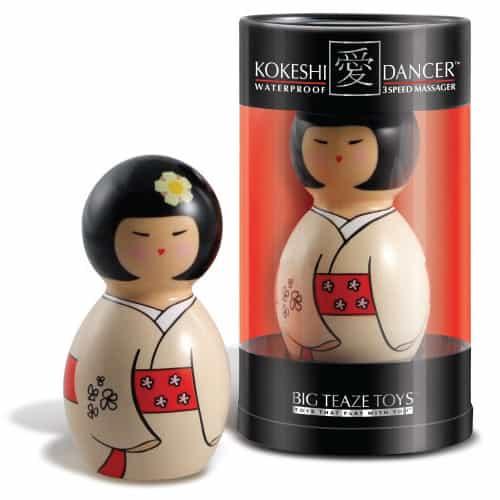muñeca Kokeshi vibrador