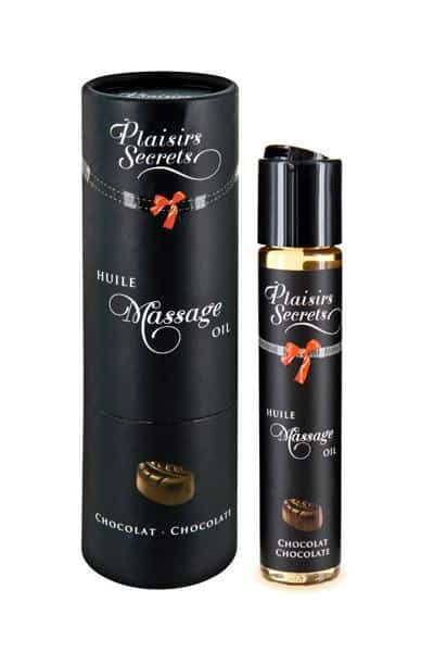 aceite de masaje chocolate Plaisirs Secrets