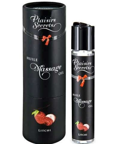 aceite de masaje litchi Plaisirs Secrets