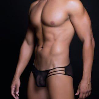 bikini sexy de hombre en malla trasparente S M