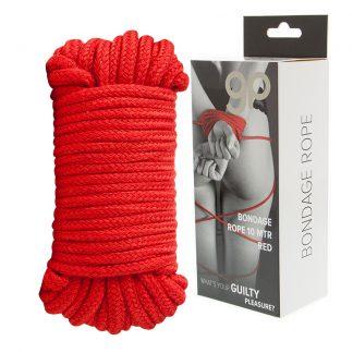 Cuerda de bondage de algodón 10 metros