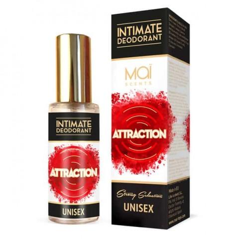 Desodorante intimo unisex con feromonas