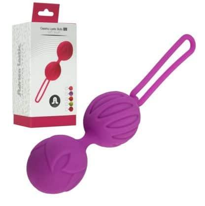 Bolas chinas de silicona color lila