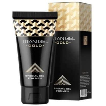 Titan Gold gel aumento de erección