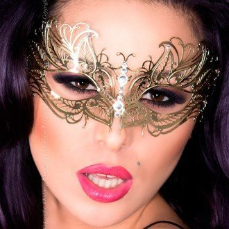 Mascara-dorada-de-Chilirose