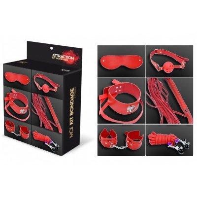 Cofret-bondage-7-piezas-rojo